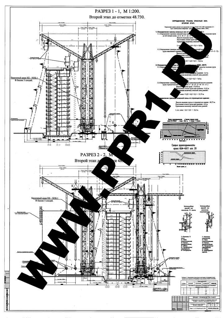 ППРк на КБ-503Б и КБM-401П. Лист 4.
